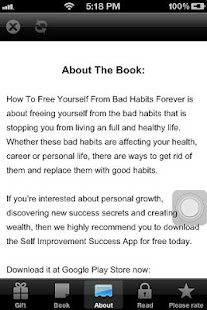How To Remove Bad Habits App - screenshot thumbnail