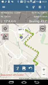 Map Pad GPS Surveys & Measure screenshot 2
