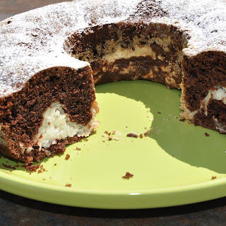 Choclate Macaroon Ring Cake
