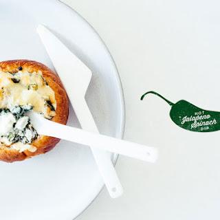 Mini Baked Jalapeño Spinach Dip