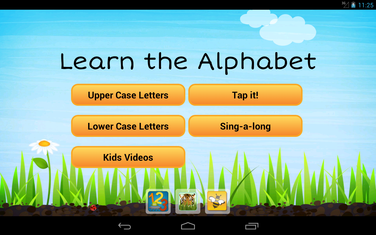 Learn the Alphabet (ABCs) - screenshot