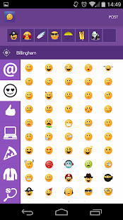 Emojicate -Emoji Only Chat App- screenshot thumbnail