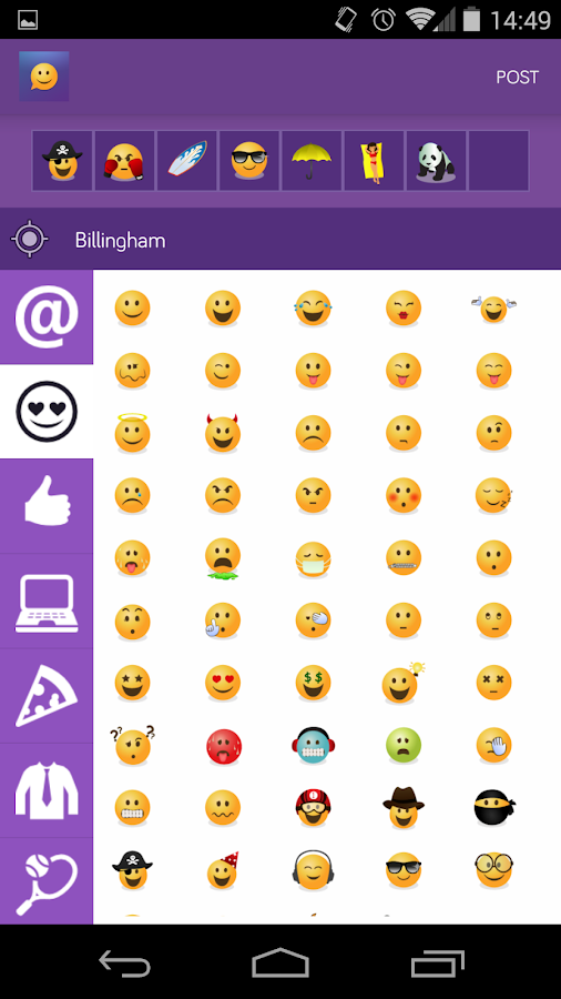 Emojicate -Emoji Only Chat App- screenshot