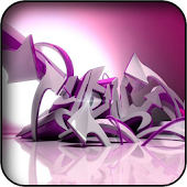 Volumetric Graffiti Wallpapers