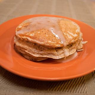 Cinnamon Bun Pancakes.