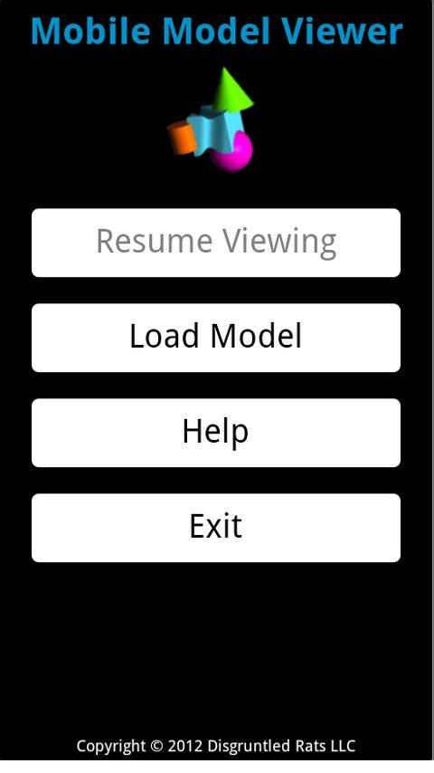 Mobile Model Viewer- screenshot