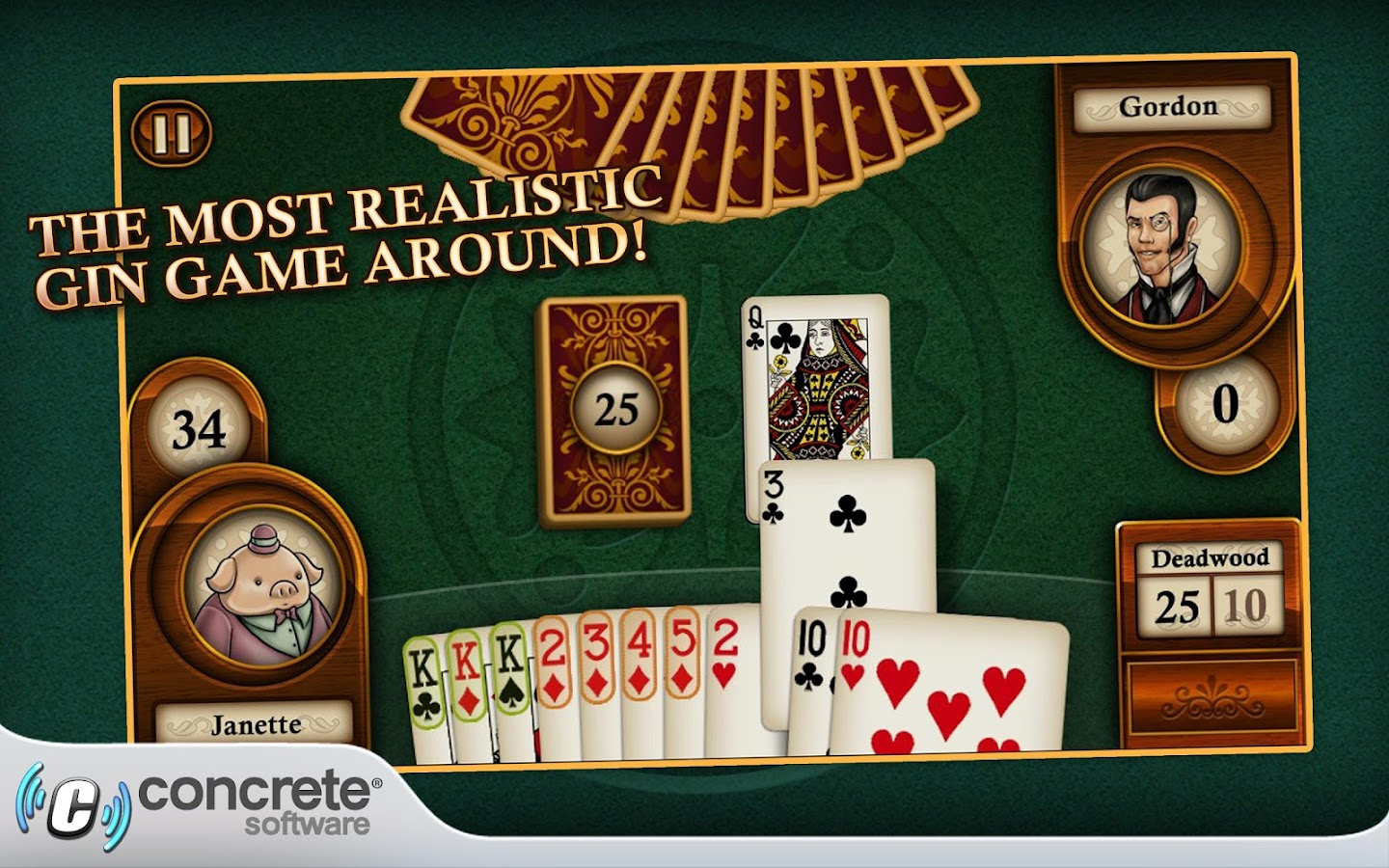 Aces Gin Rummy - screenshot