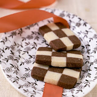 Checkerboard Cookies.