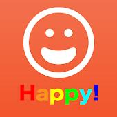 幸せを呼ぶ匿名つぶやきSNS【ハピったー】