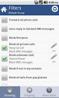 Screenshot of Call Blocker Gold
