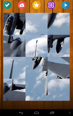 Airplanes Game Puzzle - screenshot