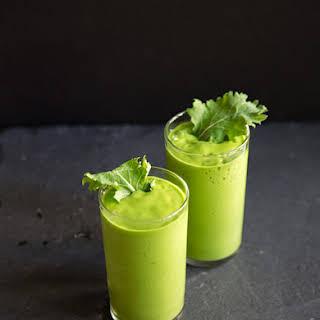 Avocado Kale Smoothie.
