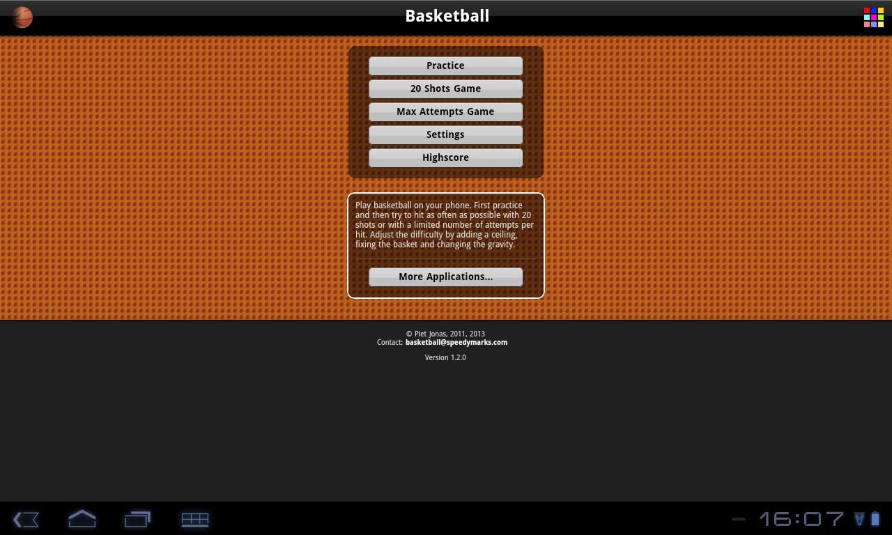 Basketball Free - screenshot