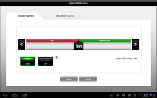 Screenshot of Total Connect Comfort