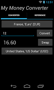 My Money Converter- screenshot thumbnail