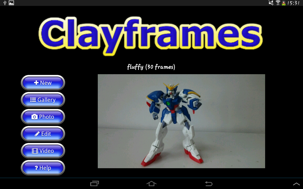Clayframes - stop motion: captura de pantalla