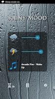 Screenshot of Rainy Mood