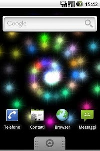 Particles Live Wallpaper screenshot 1