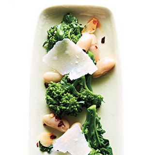 Broccoli Rabe with White Beans and Parmesan