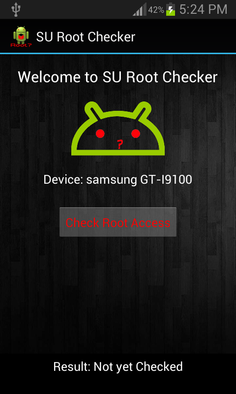 SU Root Checker- screenshot