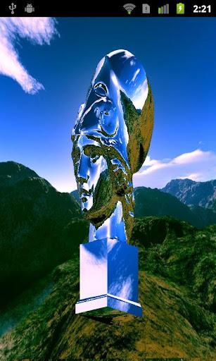 OpenGL ES2 Statue Head Demo