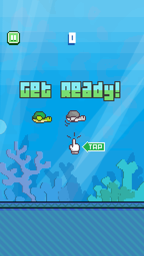Flappy Turtle- screenshot