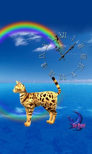 Cute Bengal Cat-Live Wallpaper