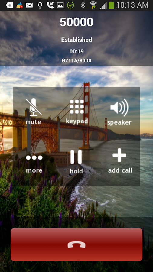 SessionChat VoIP SIP Softphone- screenshot