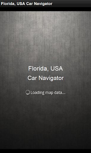 GPS導航 美國佛羅里達州