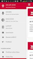 Screenshot of WNYC