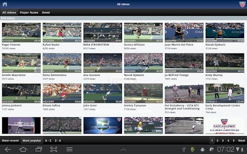 USTA.TV - screenshot thumbnail