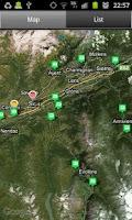 Screenshot of Campings Valais-Wallis