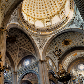 Cathedral at Puebla by Cristobal Garciaferro Rubio - Buildings & Architecture Other Interior