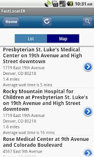 HealthONE Fast LocatER- screenshot thumbnail