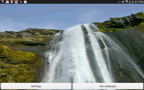 Waterfall Live Wallpapers HD- screenshot thumbnail