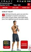 Screenshot of Men's Health Trainer Lite