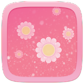 Pink Flower Toucher Pro Theme