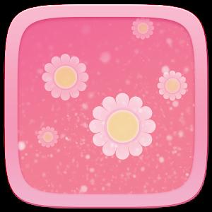 Pink Flower Toucher Pro Theme 1 0 APK Download - GOMO Go