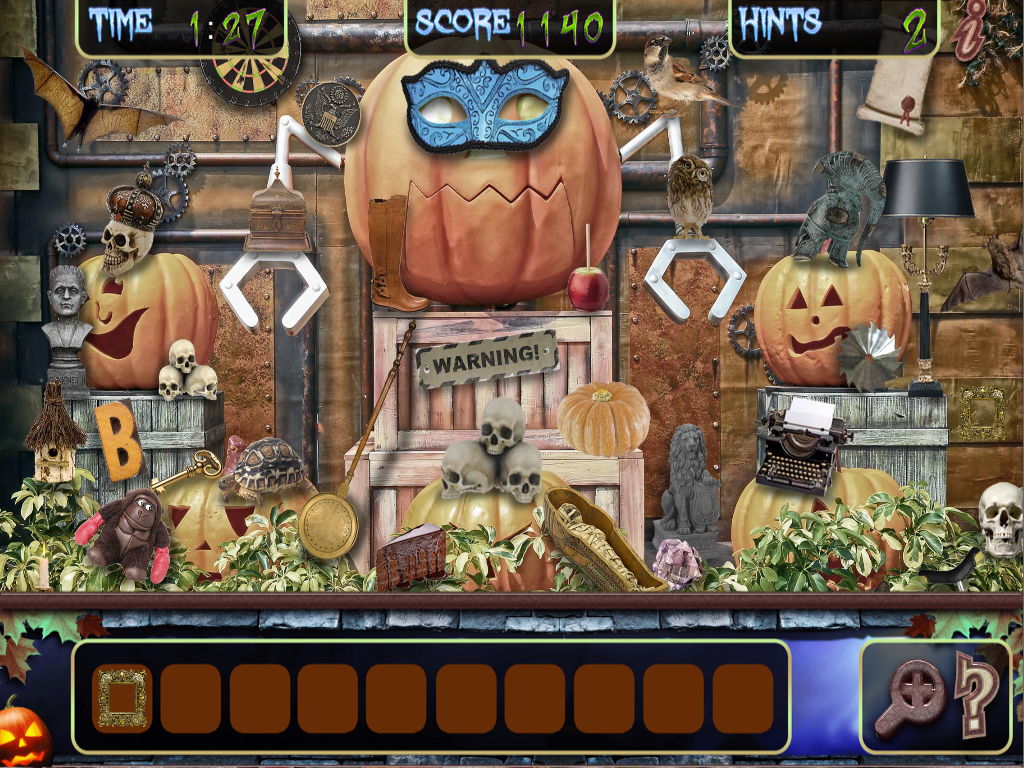 Hidden Object Halloween Haunted Mystery Objects - Android Apps on ...
