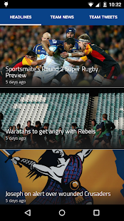 Rugby Live- screenshot thumbnail
