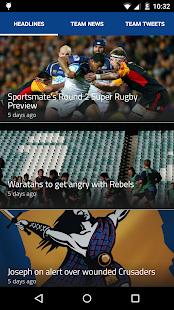 Super XV - Super Rugby Live - screenshot thumbnail