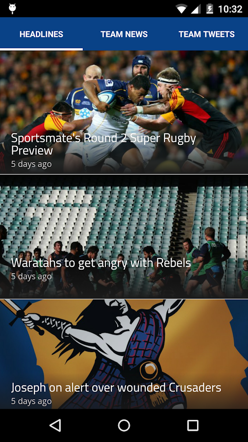 Rugby Live- screenshot
