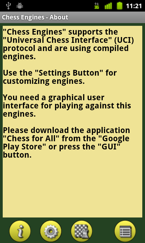 Chess Engines- screenshot