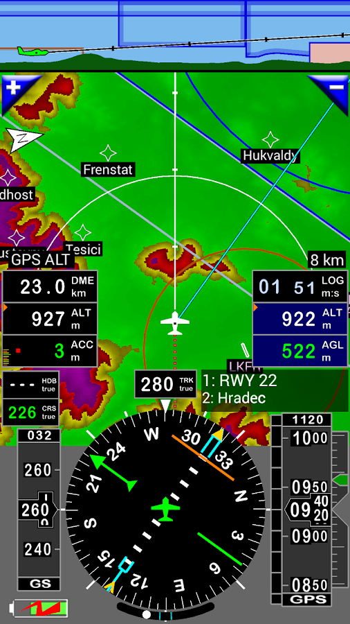 FLY is FUN Aviation Navigation - screenshot