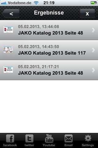 JAKO AG - screenshot