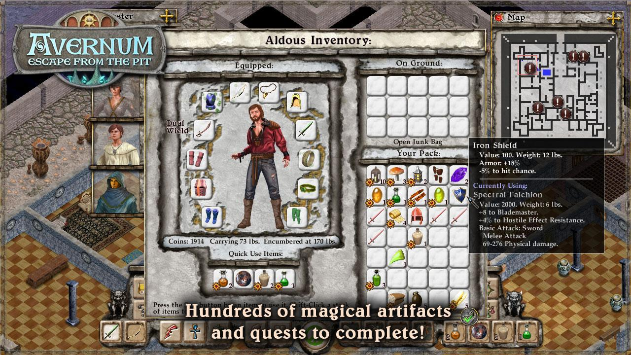 Avernum: Escape From the Pit - screenshot