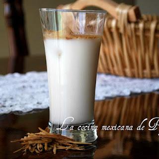 Oat Horchata Agua Fresca.