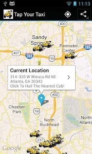 Tap Your Taxi- screenshot thumbnail