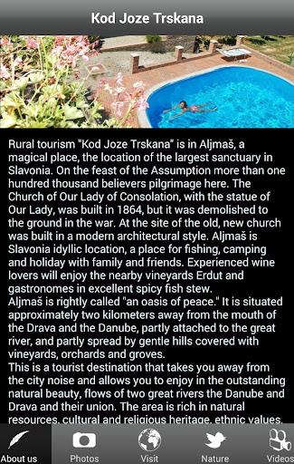 Rural tourism Kod Joze Trskana