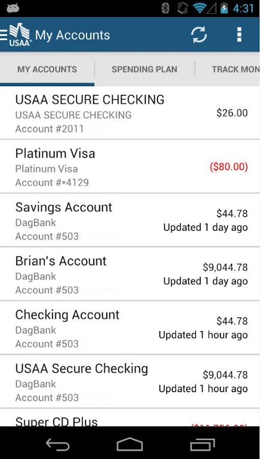 Usaa Mobile Screenshot